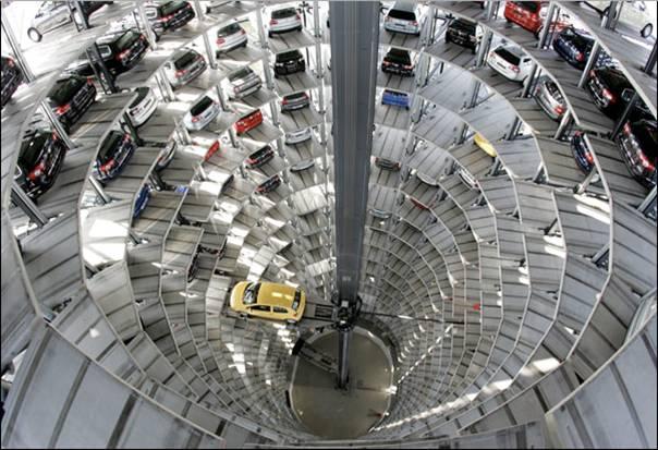 Multilevel car park